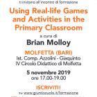 Invito all'incontro di formazione Using Real Life Games and Activities