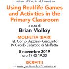 Invito all'incontro di formazione Using Real Life Games and Activities